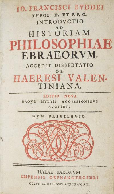 Halae Saxonum: Impensis Orphanotrophei Glavcha-Halensis, 1720. Editio Nova (Revised Edtion). Hardcov...
