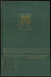 image of Entretiens sur la Metaphysique / Dialogues on Metaphysics