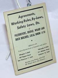 image of Agreements, working rules, by-laws, safety laws, etc.