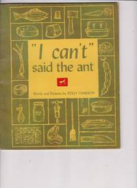 "image of I Can't"" Said the Ant by Cameron, Polly"