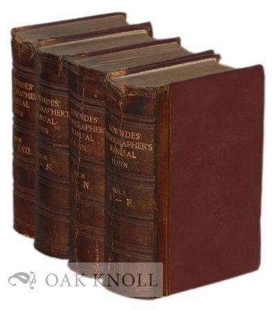 London: George Bell and Sons, 1864. original quarter calf over cloth. thick 8vo. original quarter ca...