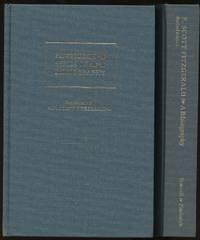 F. Scott Fitzgerald: A Descriptive Bibliography and Supplement to F. Scott Fitzgerald (Two Volumes)