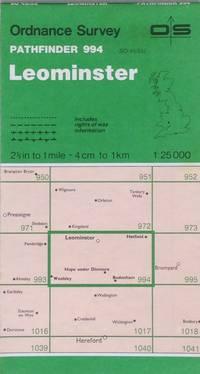 Pathfinder map sheet 994: Leominster