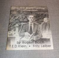 image of The First World Fantasy Convention : Three Authors Remember