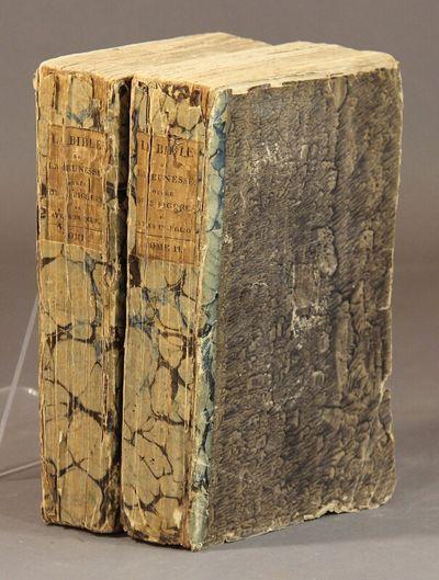 Paris: Desray, 1814. 2 volumes, 8vo, pp. xxxiv, 380; , 435, errata; engraved frontispiece in each vo...