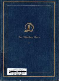 Der Münchner Kreis: Platen, Curtius, Geibel, Strachwitz