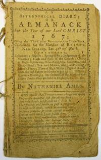 AN ASTRONOMICAL DIARY; OR, ALMANACK FOR THE YEAR OF OUR LORD CHRIST 1767