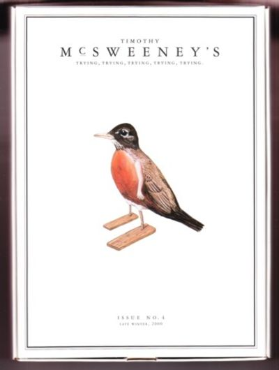San Francisco: McSweeney's, 2000. Consists of 14 chapbooks. Pictoral stapled wraps. Contributors are...