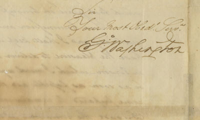 15/01/1783. George Washington Washington also congratulates Elias Dayton, one of Americas first spie...