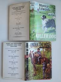 image of 2 non series Children's Book Club editions in dust wrappers: Killer dog  and Under the rose