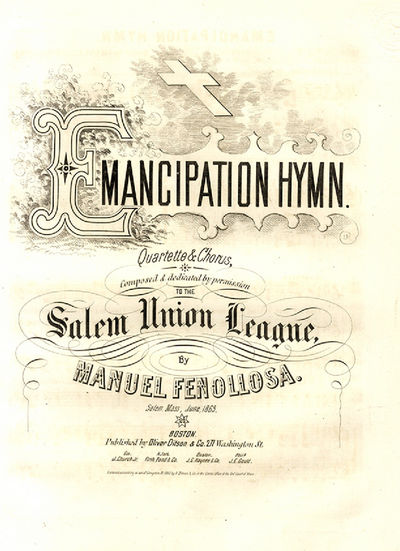 Emancipation Hymn. Composed and...