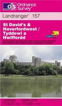 St.David's and Haverfordwest: St.David's and Haverfordwest Sheet 157 (Landranger Maps)