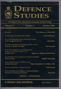 image of Defence Studies Volume 1 Number 2 Summer 2001: The Journal of the Joint Services Command and Staff College