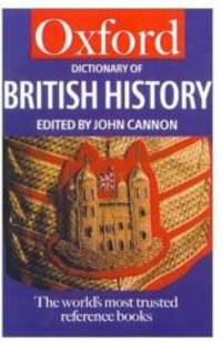 Oxford Dictionary of British History (Oxford Quick Reference) by Oxford University Press - 2001-11-15 - from Books Express and Biblio.com