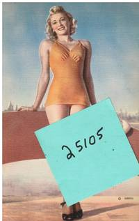 image of Giant Post Card: Pin-Up Bathing Beauty (GBB505)
