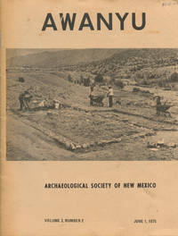 AWANYU : Archaeological Society of New Mexico : June 1, 1975 , Volume 3, No 2