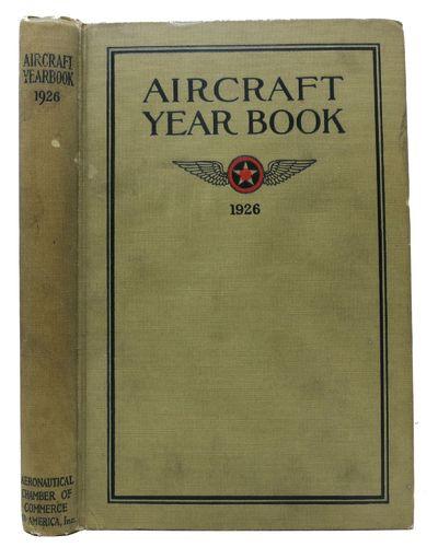 New York City: Aeronautical Chamber of Commerce of America Inc, 1926. 1st edition thus. Greenish lin...