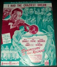 """image of Vintage Sheet Music """"I Had the Craziest Dream """""""