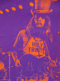 Leon Russell Blacklight Poster
