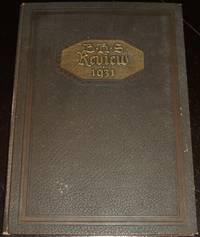 image of 1931 Burrillville Rhode Island High School Yearbook
