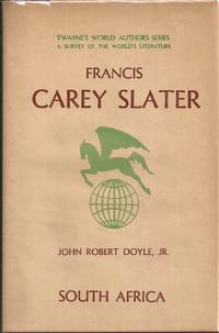 Francis Carey Slater (inscribed)