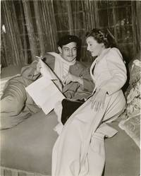 The Lady Eve (Original photograph of Preston Sturges and Barbara Stanwyck on the set of the 1941 film)