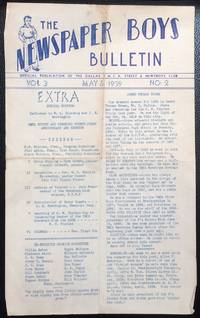 image of The Newspaper Boys Bulletin: Official publication of the Dallas YMCA Street and Newsboys Club. Vol. 3 no. 2 (May 6, 1939)