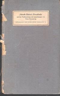 Zionslieder. Mit der Verdeutschung von Franz Rosenzweig  und seinen Anmerkungen