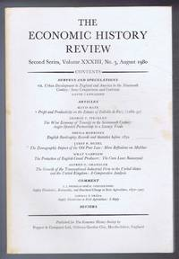 The Economic History Review. Second Series, Volume XXXIII (33), No. 3, August 1980