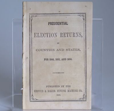 [Presidential Election Returns, by...