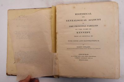 Edinburgh: W. Tait and J. Stevenson, 1830. Hardcover. As is (library book plate inside front cover, ...