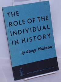 image of The role of the individual in history
