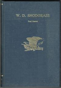 W. D. Snodgrass (Signed)