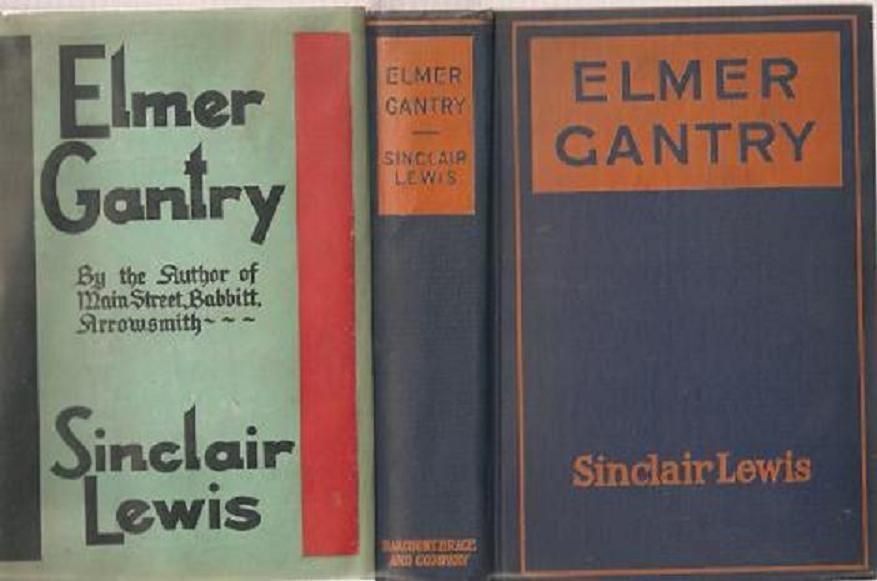 a study of the book elmer gantry by sinclair lewis Elmer gantry by sinclair lewis - book cover, description, publication history.
