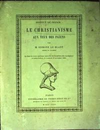 Le christianisme aux yeux des païens.