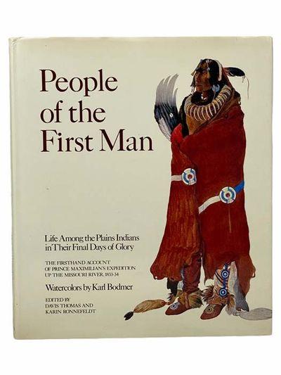 New York: E. P. Dutton, 1976. First Edition. Large Hardcover. Near Fine/Near Fine. Bodmer, Karl. Fir...