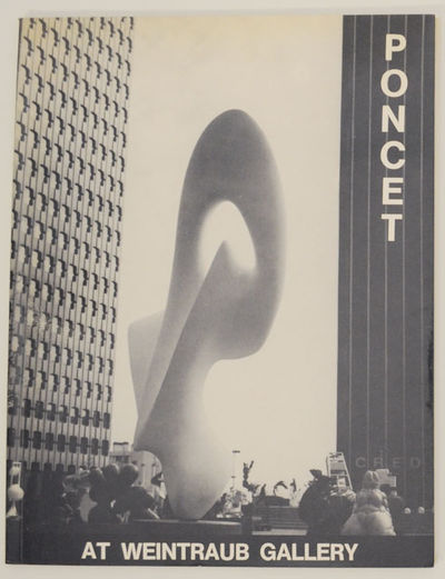 New York: Weintraub Gallery, 1978. First edition. Softcover. Exhibition catalog for a show that ran ...
