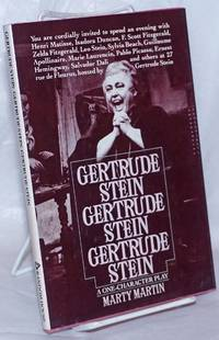 image of Gertrude Stein, Gertrude Stein, Gertrude Stein: a one-character play
