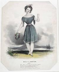 Miss P. Horton as April [Souvenir print]