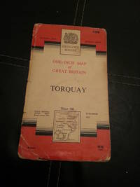 Torquay - One-inch Map of Great Britain Sheet - Seventh Series by Ordnance Survey