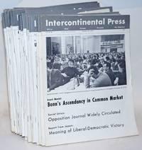 Intercontinental Press. Vol. 8, no. 1, January 12, 1970 to vol. 8, no. 43, December 21, 1970