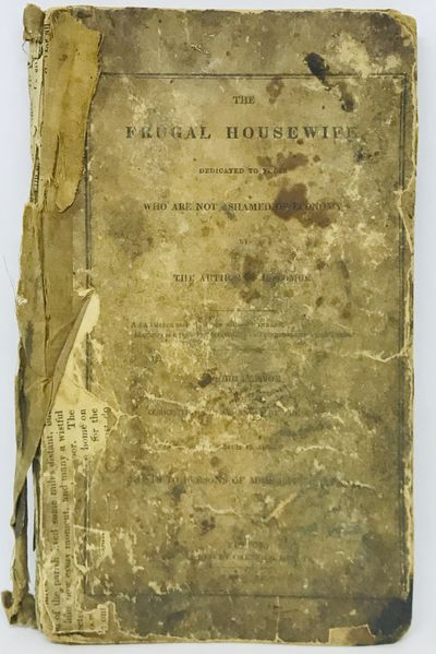 Boston: Carter and Hendee, 1830. Third Edition. Hardcover. Original Printed Paper Covered Boards. Po...