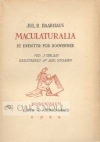 MACULATURALIA ET EVENTYR FOR BOGVENNER