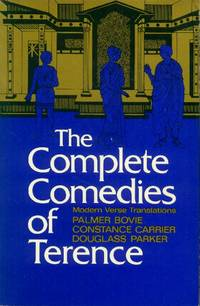 image of The Complete Comedies of Terence; modern Verse Translations