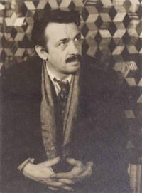Portrait photograph of Thomas Hart Benton