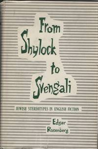 image of From Shylock to Svengali  Jewish Stereotypes in English Fiction