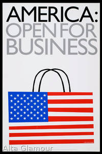 AMERICA: OPEN FOR BUSINESS - Shop Window Poster