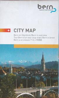 Bern city map by Bern Tourism - 2008 - from Acanthophyllum Books and Biblio.com