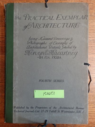 Westminster (London): Architectural Review, nd. Hardcover. G (Binding has moderate wear with bumped ...