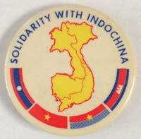 image of Solidarity with Indochina [pinback button]